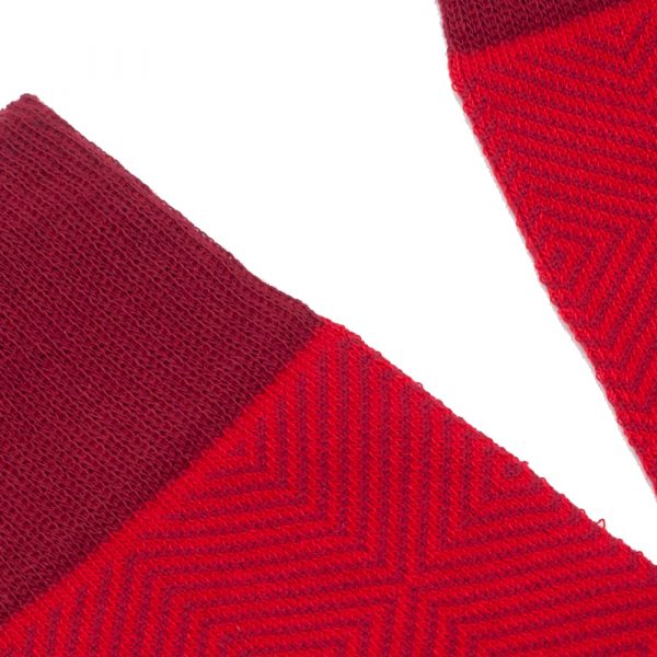Losange Rouge Écarlate 3